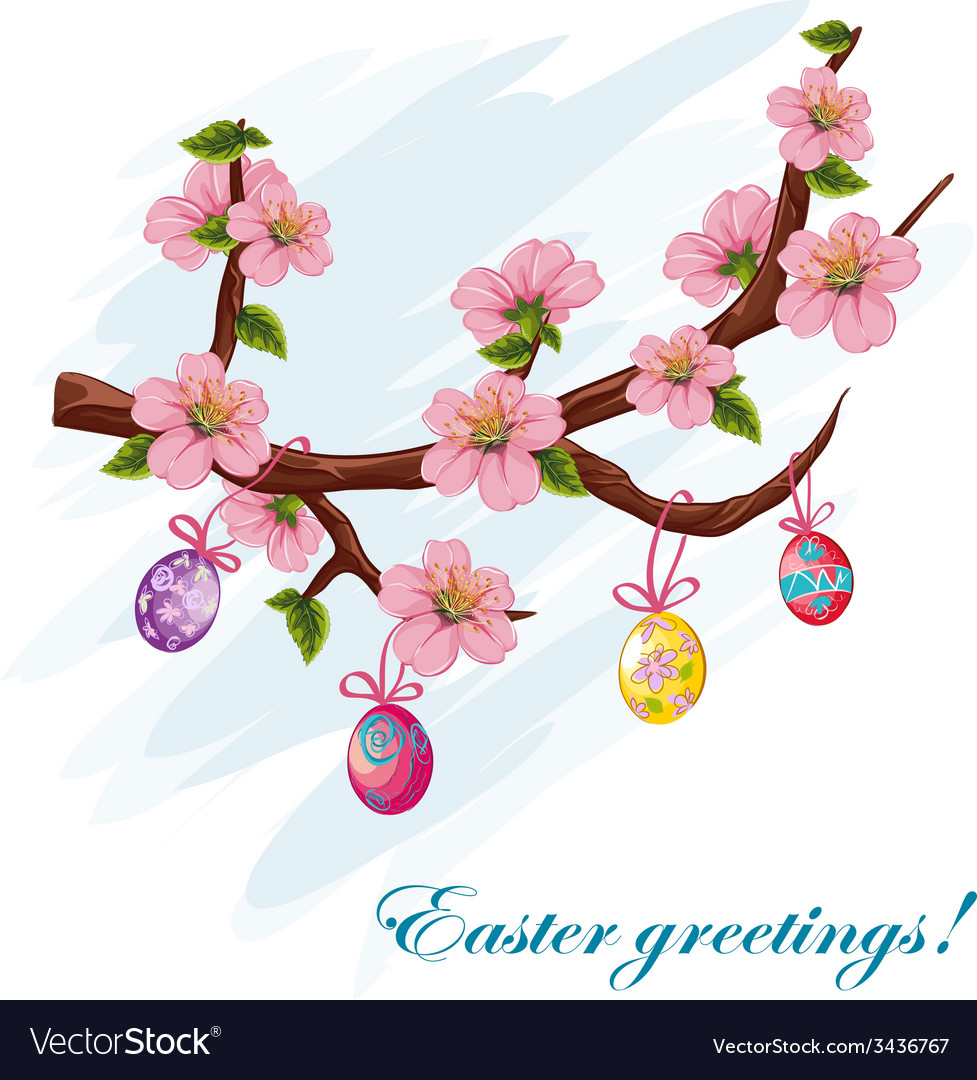 The background to the day of easter vector | Price: 3 Credit (USD $3)