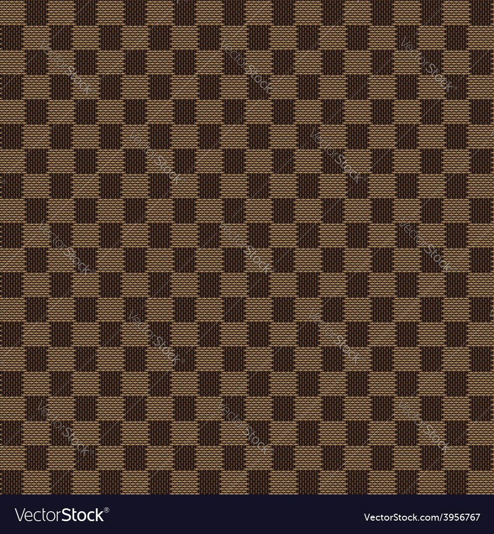 Brown beige seamless fabric texture pattern vector | Price: 1 Credit (USD $1)