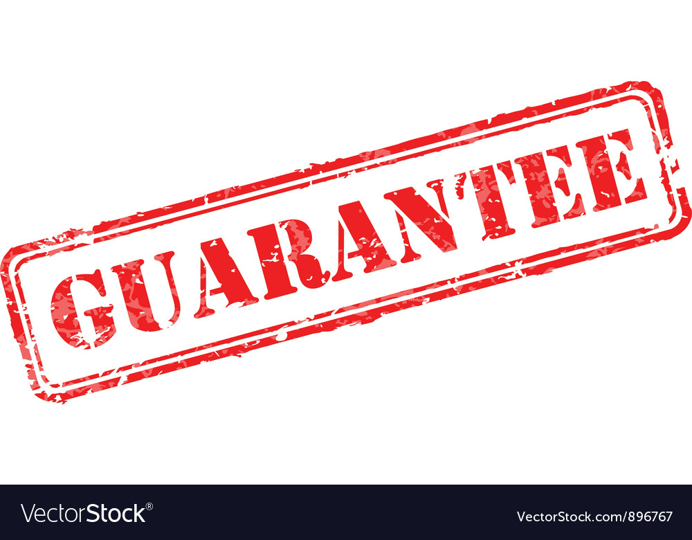 Guarantee rubber stamp vector | Price: 1 Credit (USD $1)