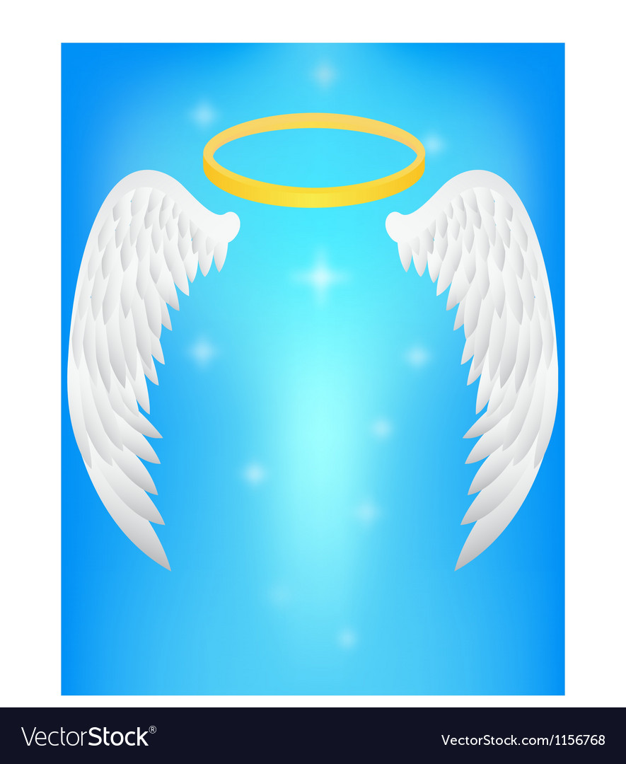 Angel wing vector | Price: 1 Credit (USD $1)