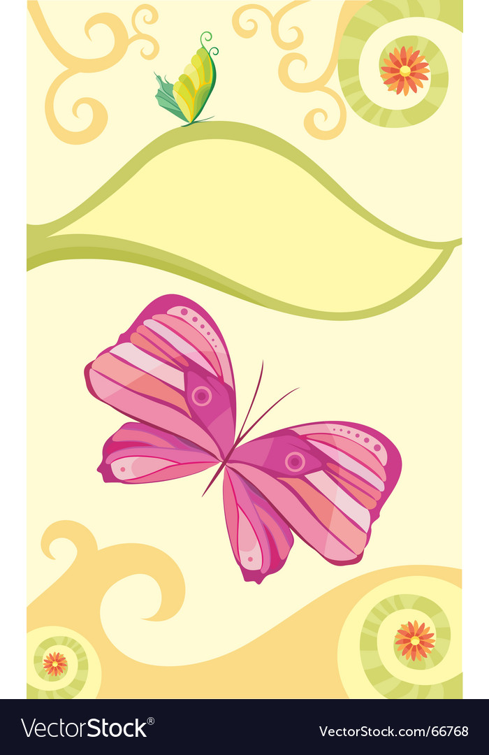 Butterfly vector | Price: 1 Credit (USD $1)