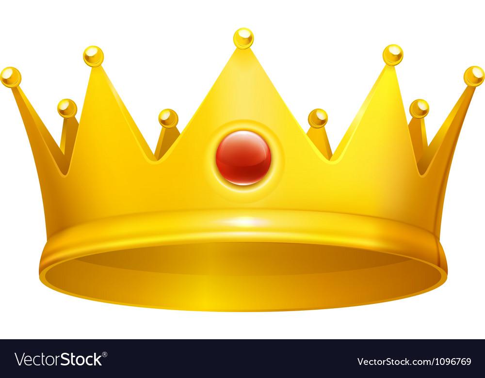 Royal crown vector | Price: 1 Credit (USD $1)