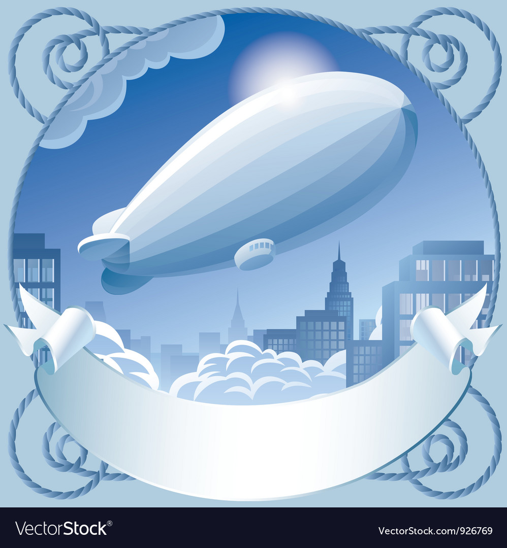 Zeppelin vector | Price: 3 Credit (USD $3)