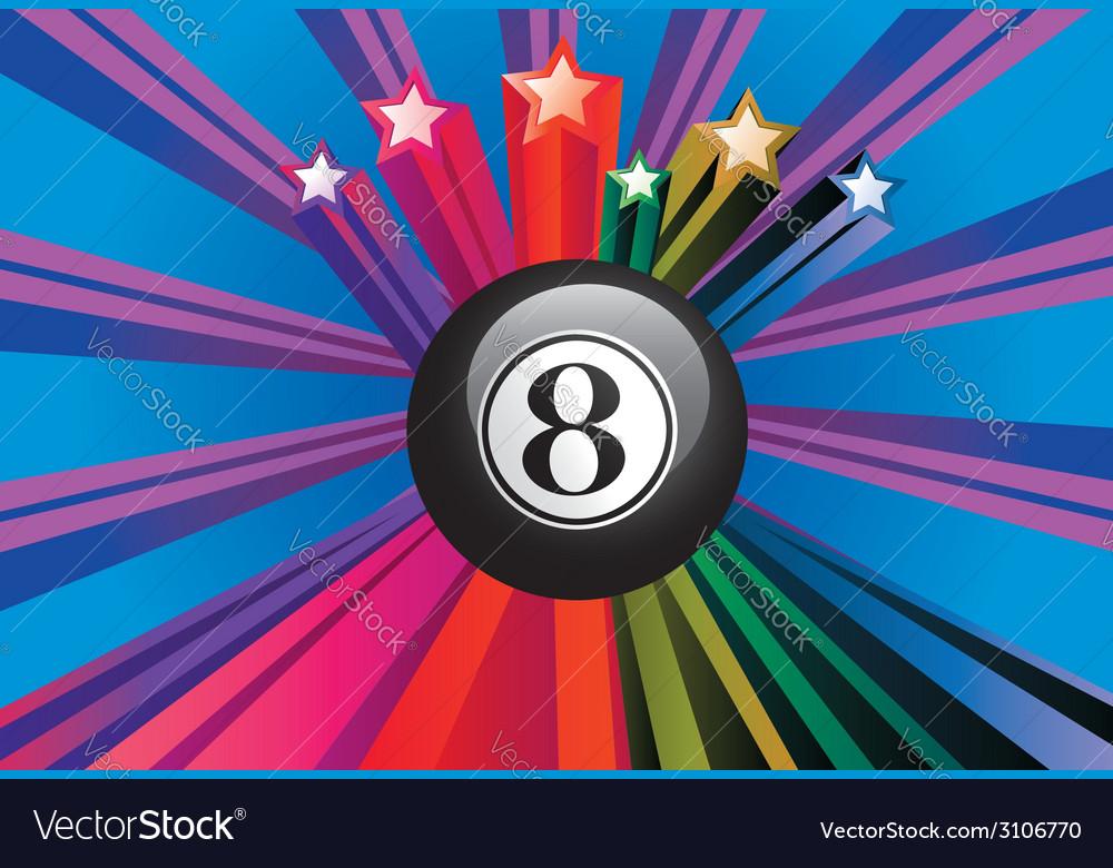 Eight ball2 vector | Price: 1 Credit (USD $1)