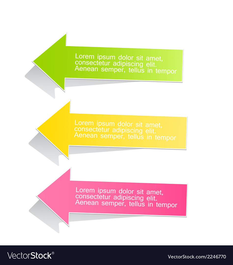 Modern infographic colorful design template vector | Price: 1 Credit (USD $1)