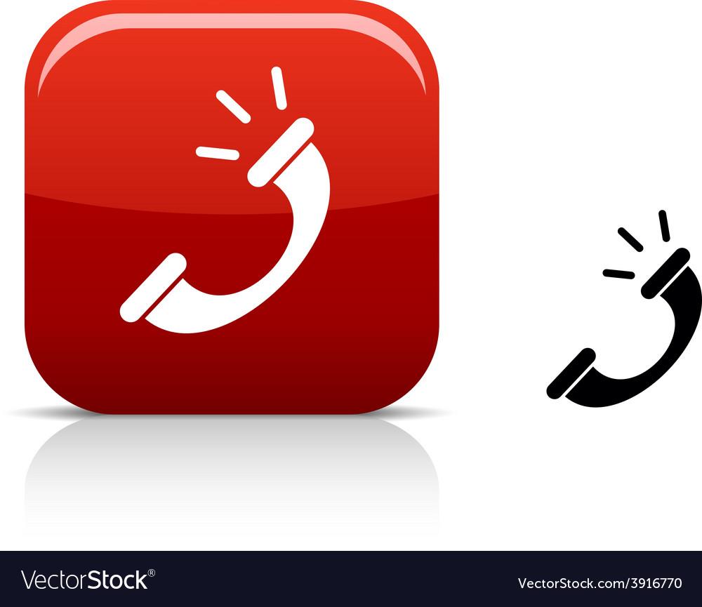 Telephone icon vector   Price: 1 Credit (USD $1)