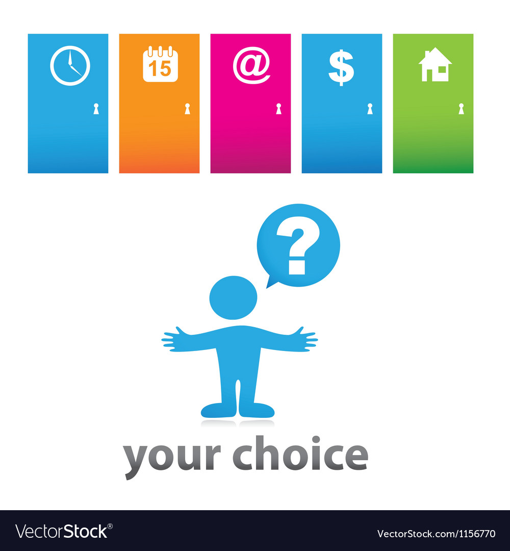 Your choice vector | Price: 1 Credit (USD $1)