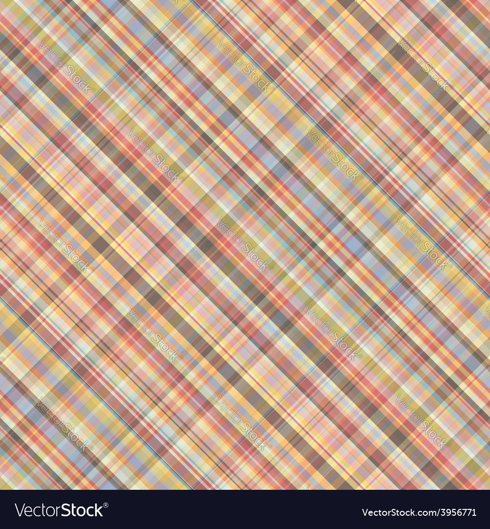 Colored diagonal squared seamless pattern vector | Price: 1 Credit (USD $1)