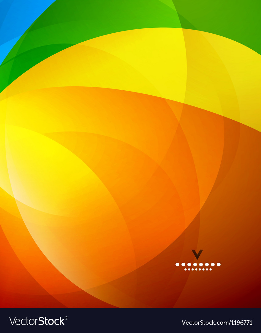 Colorful shiny abstract design template vector | Price: 1 Credit (USD $1)