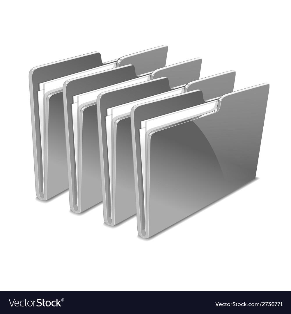 Folder vector | Price: 1 Credit (USD $1)