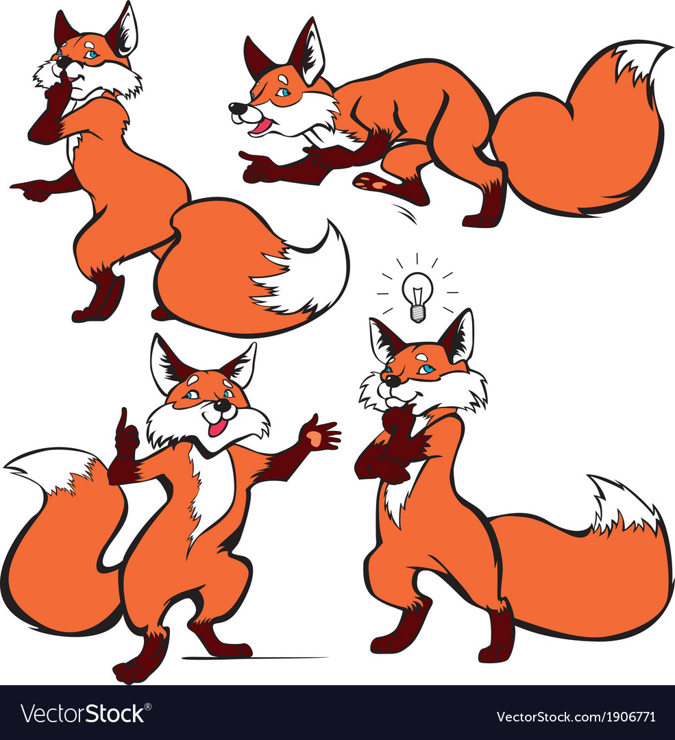 Foxes vector   Price: 1 Credit (USD $1)