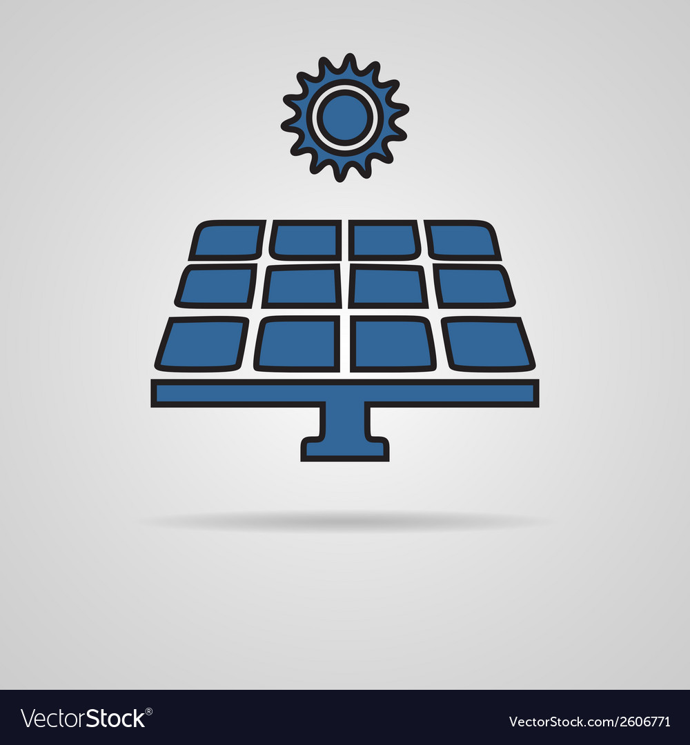 Solar energy vector | Price: 1 Credit (USD $1)