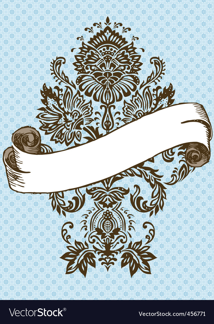 victorian ornament and scroll vector | Price: 1 Credit (USD $1)