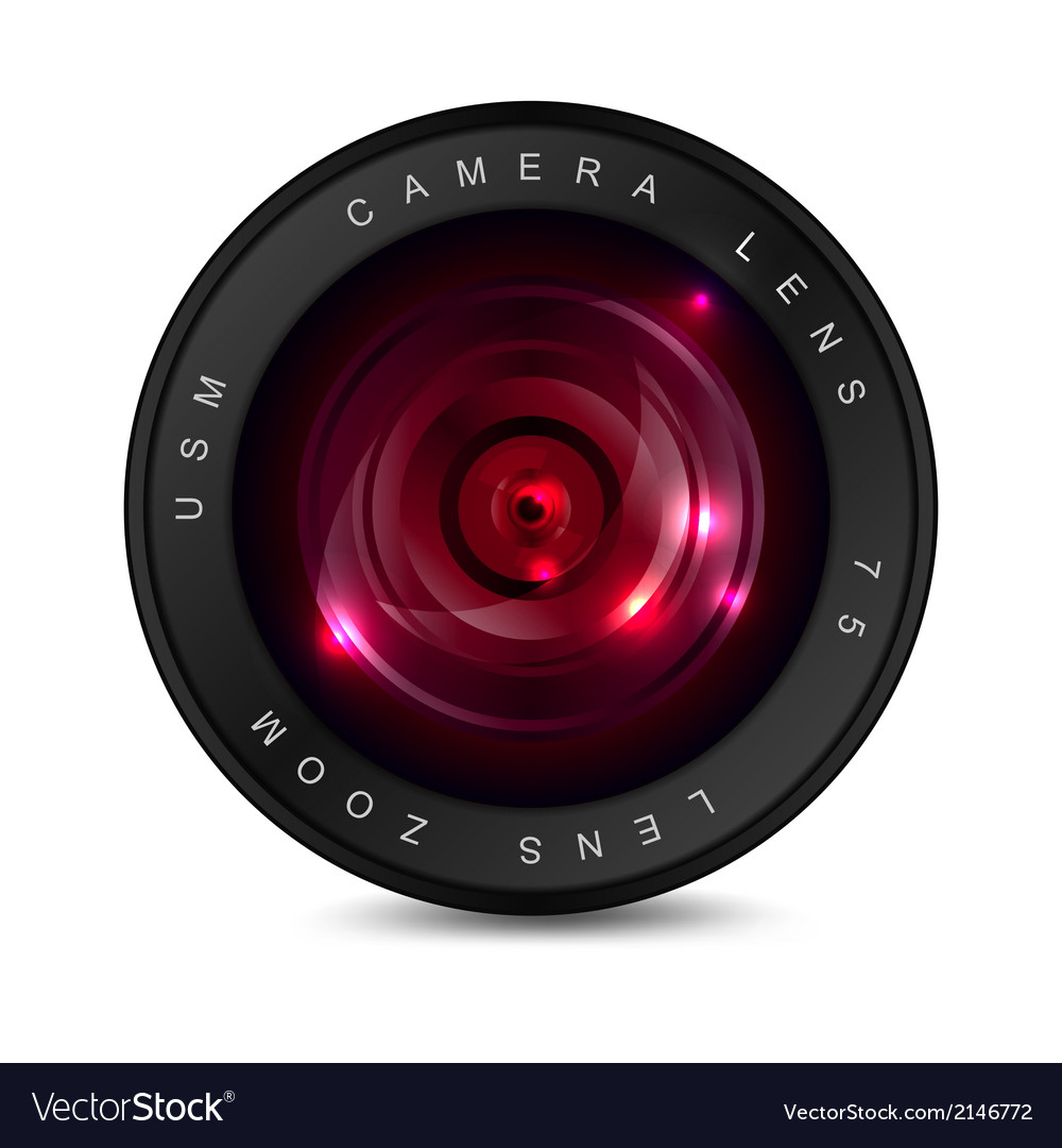Red lens vector   Price: 1 Credit (USD $1)