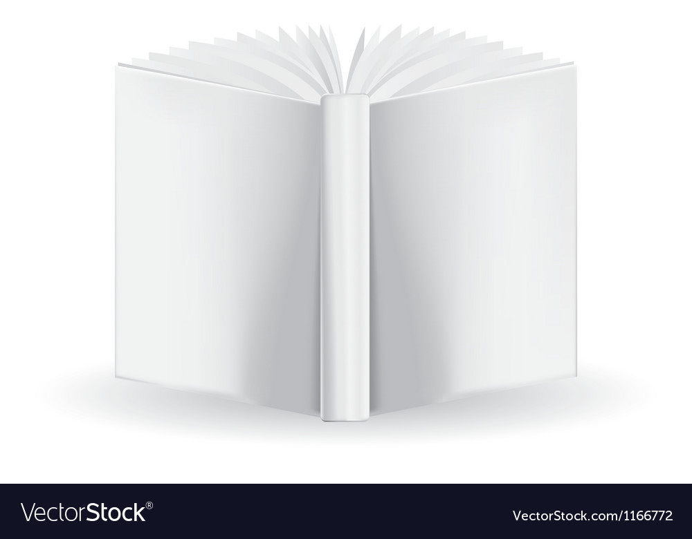 White book vector | Price: 1 Credit (USD $1)