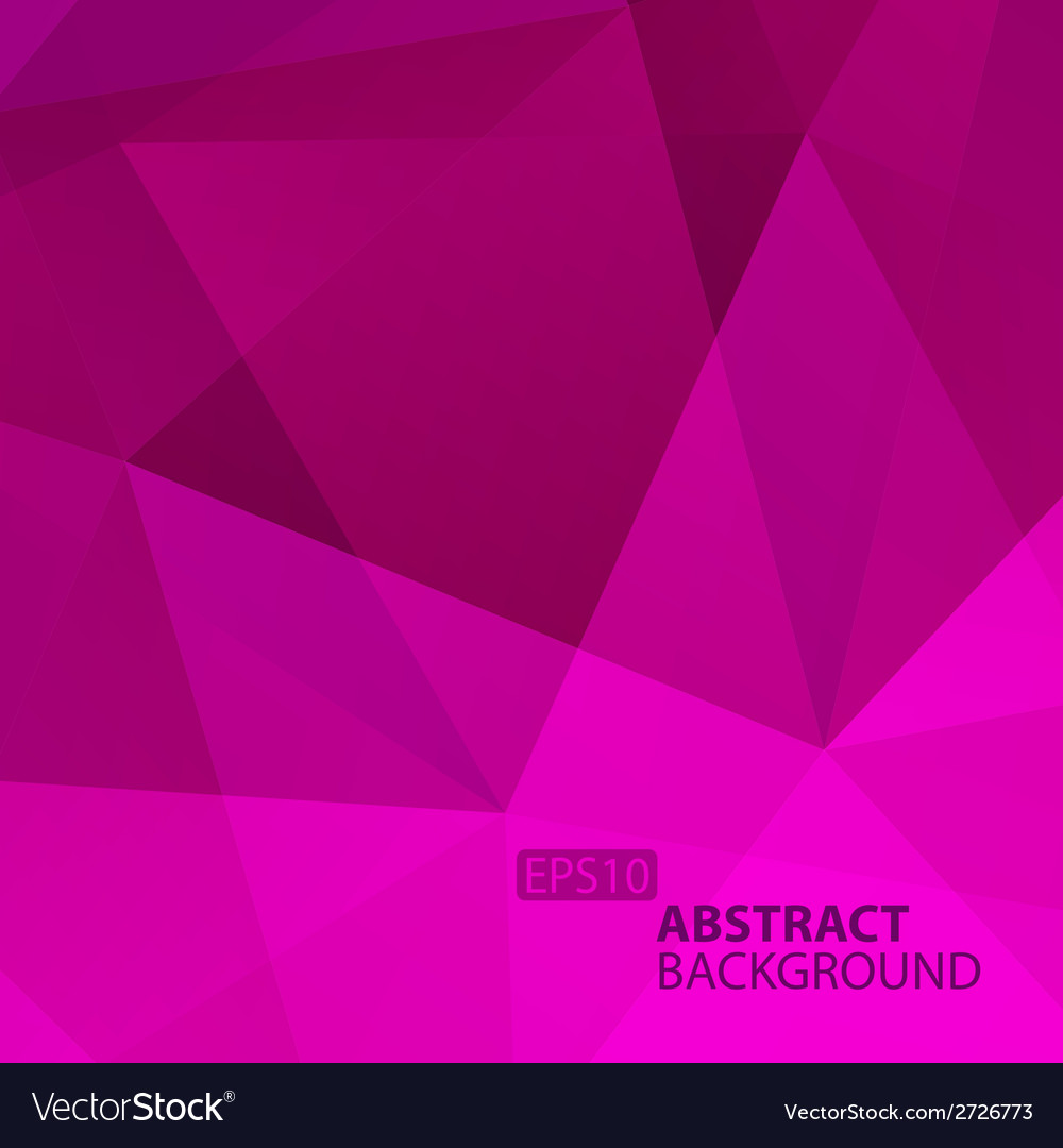 Abstract violet geometric background vector | Price: 1 Credit (USD $1)