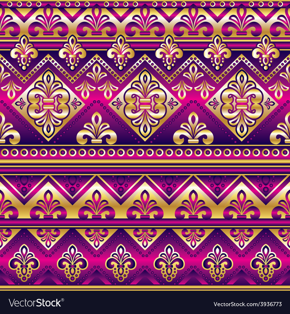 Silk seamless ornament vector   Price: 1 Credit (USD $1)