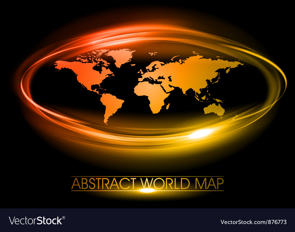 World abstract circle vector | Price: 1 Credit (USD $1)