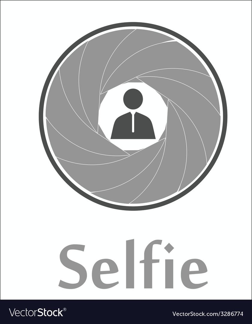 Selfie icon vector   Price: 1 Credit (USD $1)