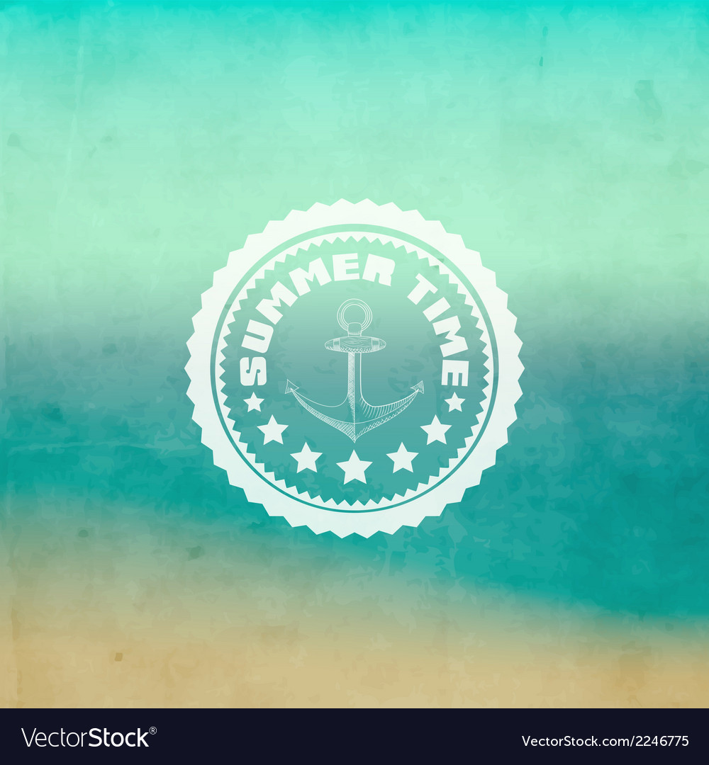 Retro summer background vector | Price: 1 Credit (USD $1)