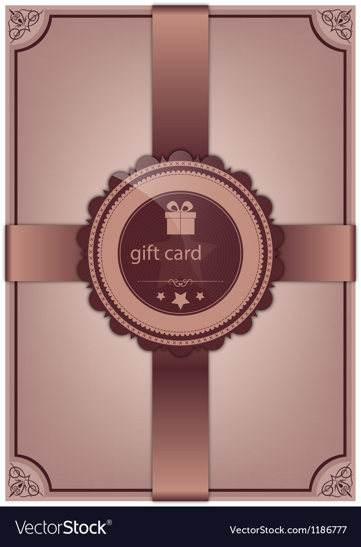 Abstract gift card vector   Price: 1 Credit (USD $1)