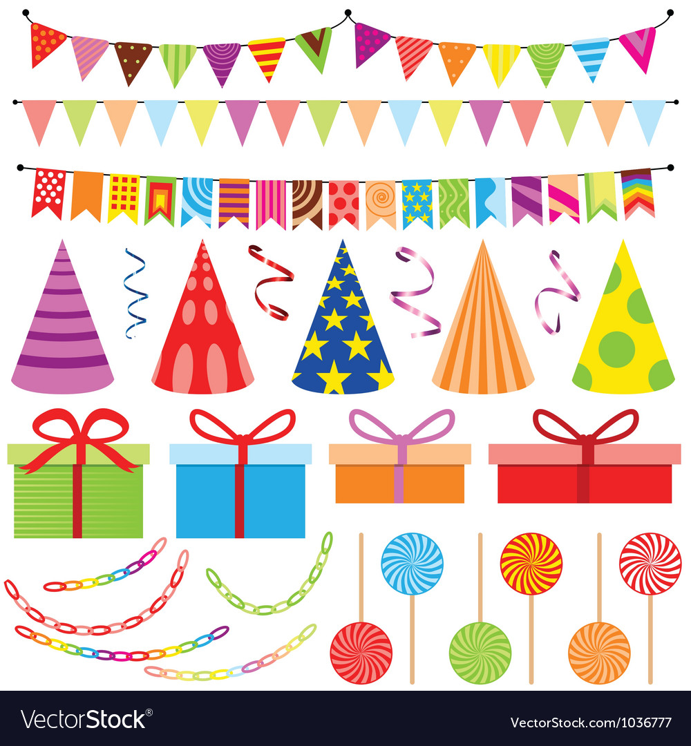 Party decoration vector | Price: 1 Credit (USD $1)