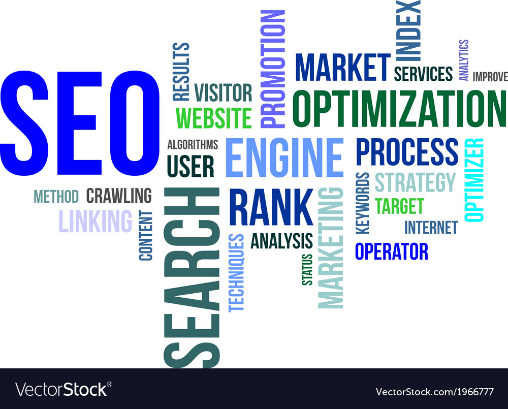 Word cloud seo vector | Price: 1 Credit (USD $1)