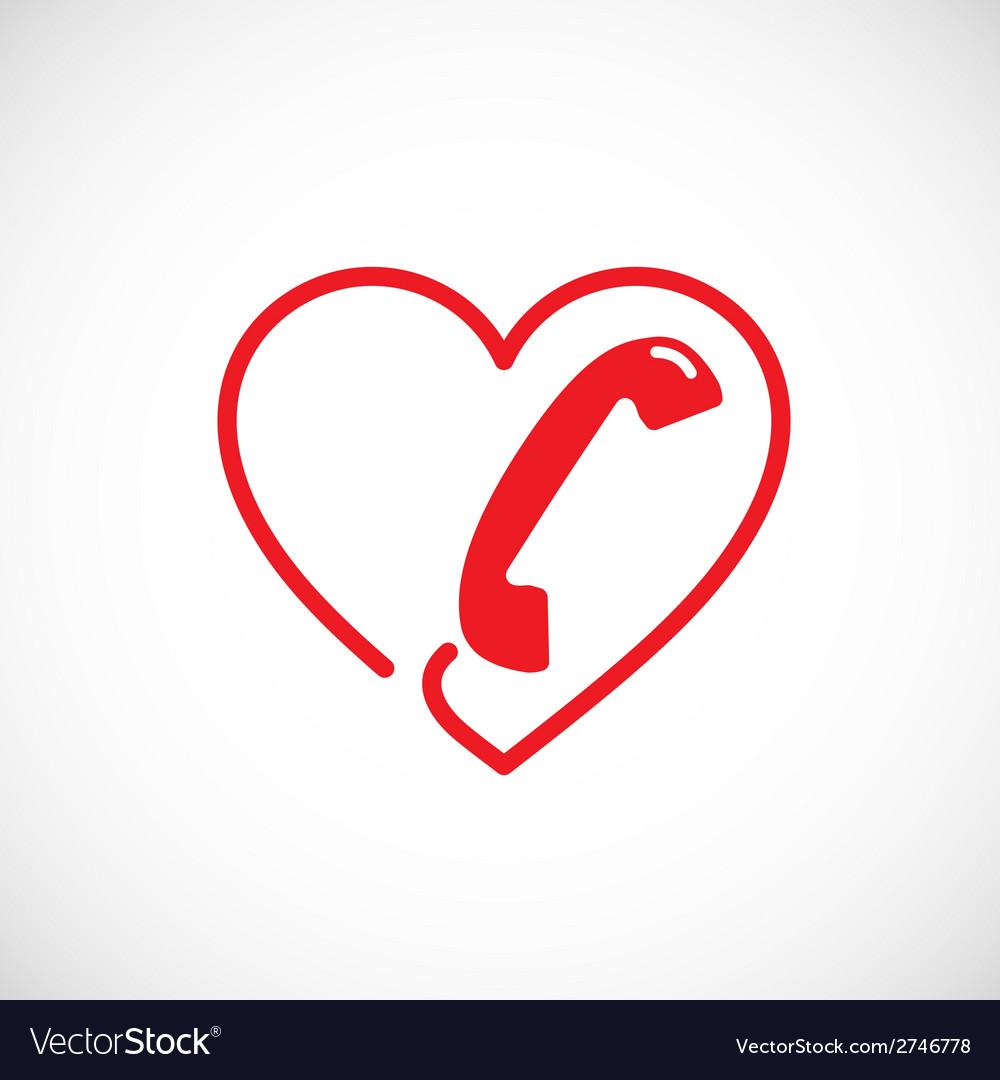 Helpline or phone sex abstract symbol icon vector | Price: 1 Credit (USD $1)
