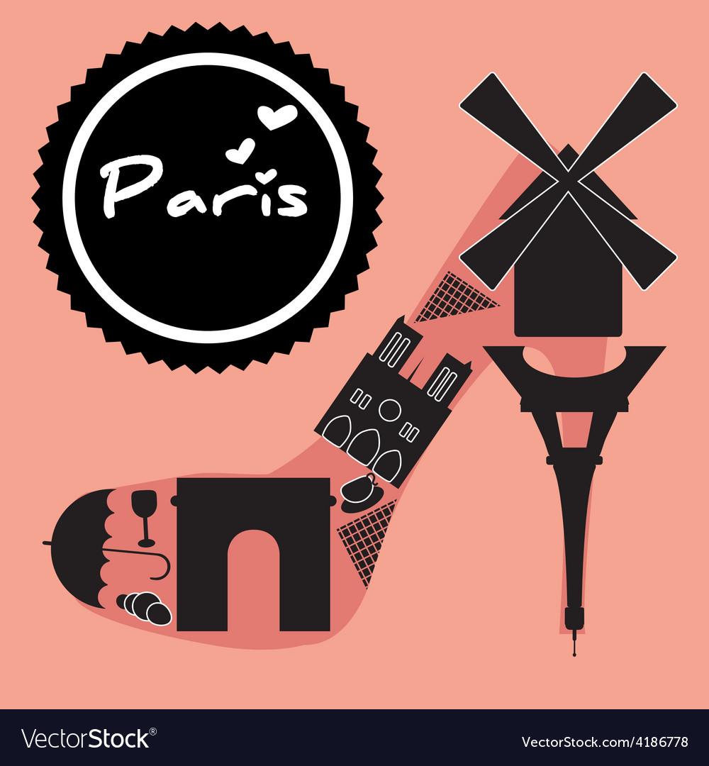 Paris sybmol vector   Price: 1 Credit (USD $1)