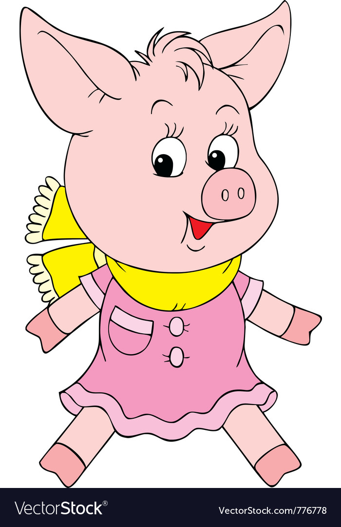 Piglet vector | Price: 3 Credit (USD $3)