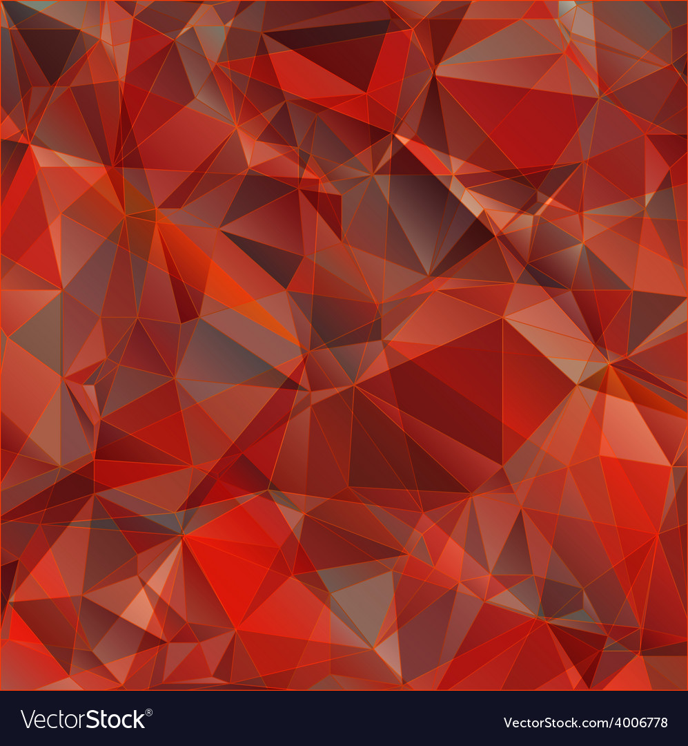 Red triangle abstract background vector | Price: 1 Credit (USD $1)