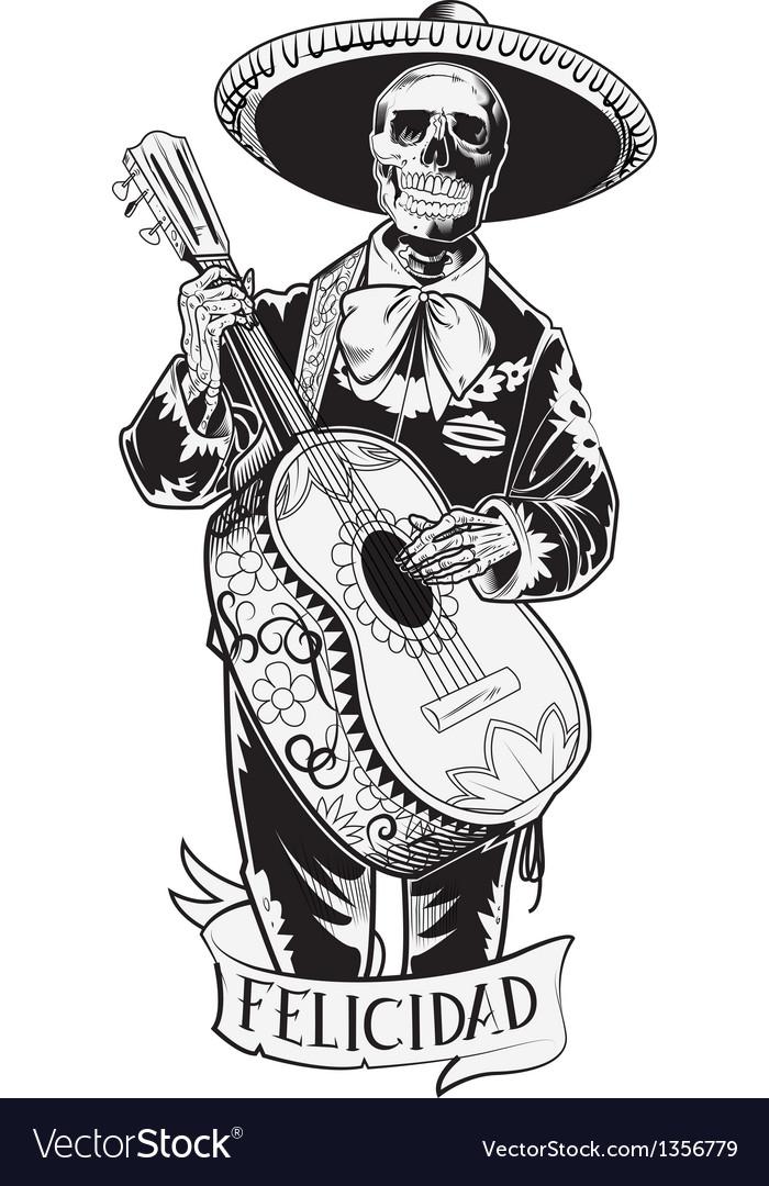 El mariachi vector | Price: 5 Credit (USD $5)