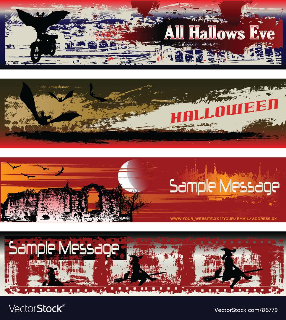 Halloween web vector | Price: 1 Credit (USD $1)