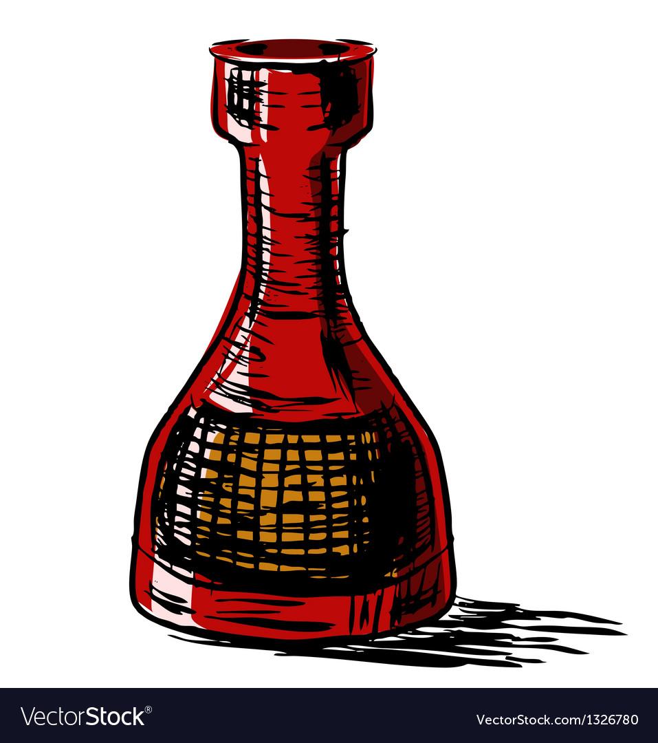 Bottle vector | Price: 1 Credit (USD $1)