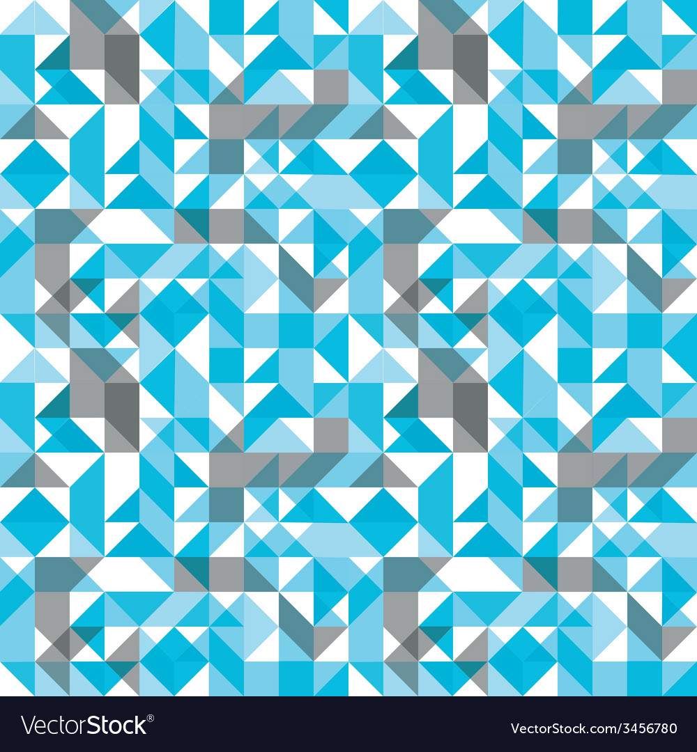 Bright seamless pattern with geometric figures vector | Price: 1 Credit (USD $1)