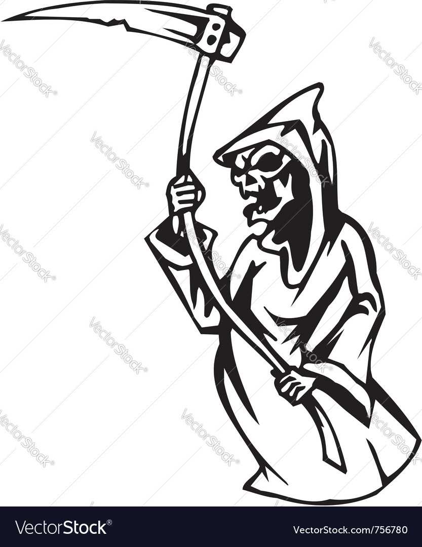 Grim reaper - halloween set - vector | Price: 1 Credit (USD $1)
