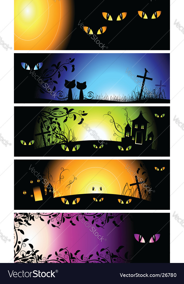 Halloween night background vector | Price: 3 Credit (USD $3)