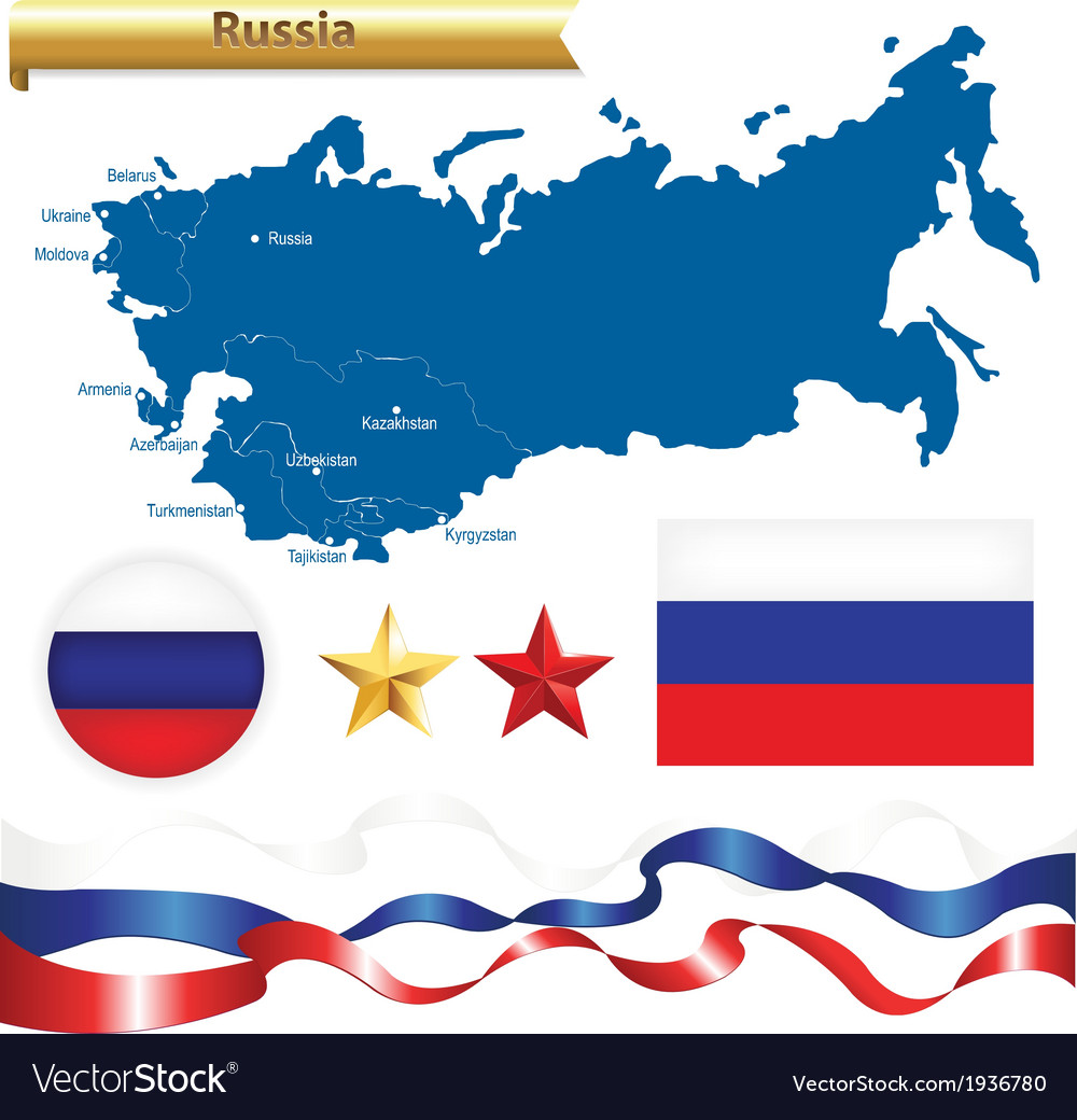 Russian federation set vector | Price: 1 Credit (USD $1)