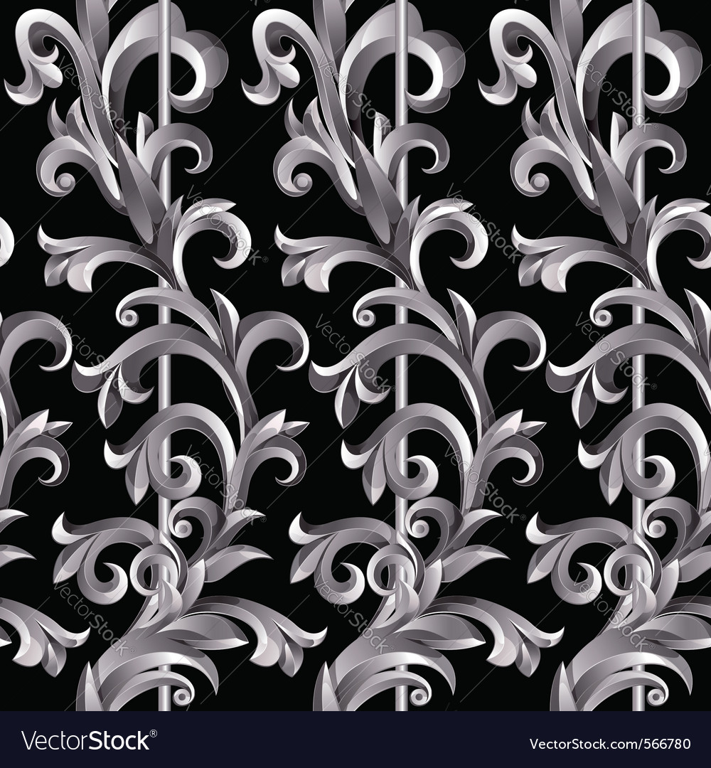 Silver plant vector | Price: 1 Credit (USD $1)