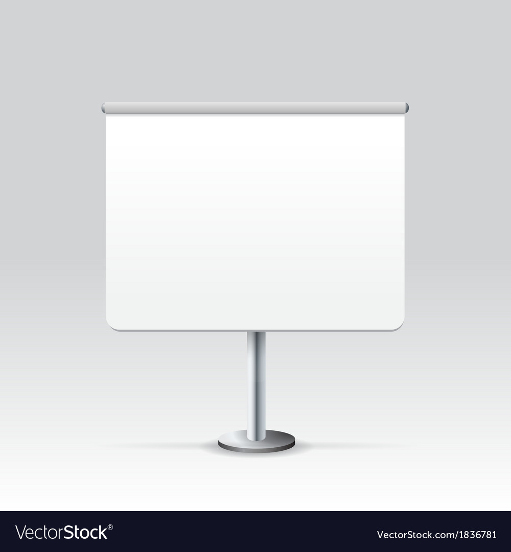 Blank stand vector | Price: 1 Credit (USD $1)
