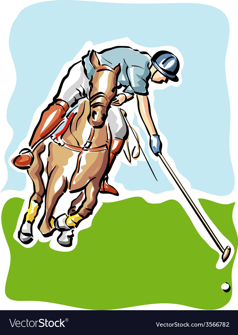 Polo player vector   Price: 1 Credit (USD $1)