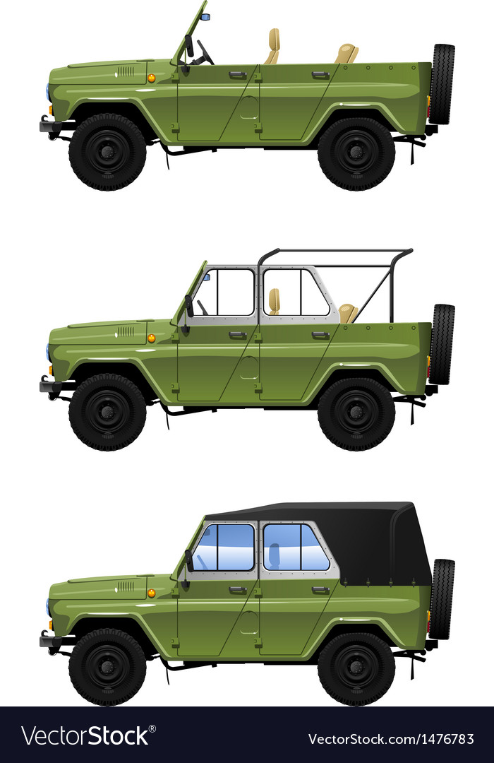 All road vehicle vector | Price: 1 Credit (USD $1)