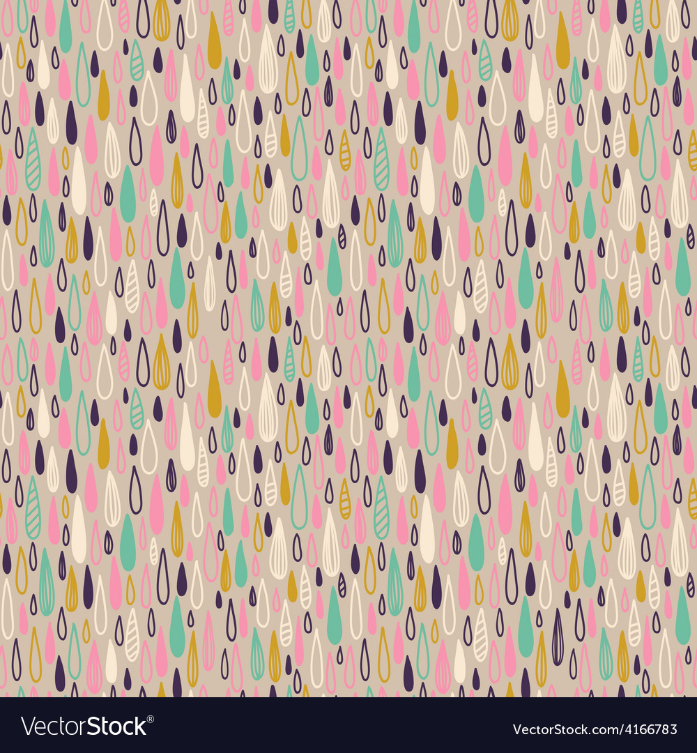 Cute seamless childish texture endless ornamental vector | Price: 1 Credit (USD $1)