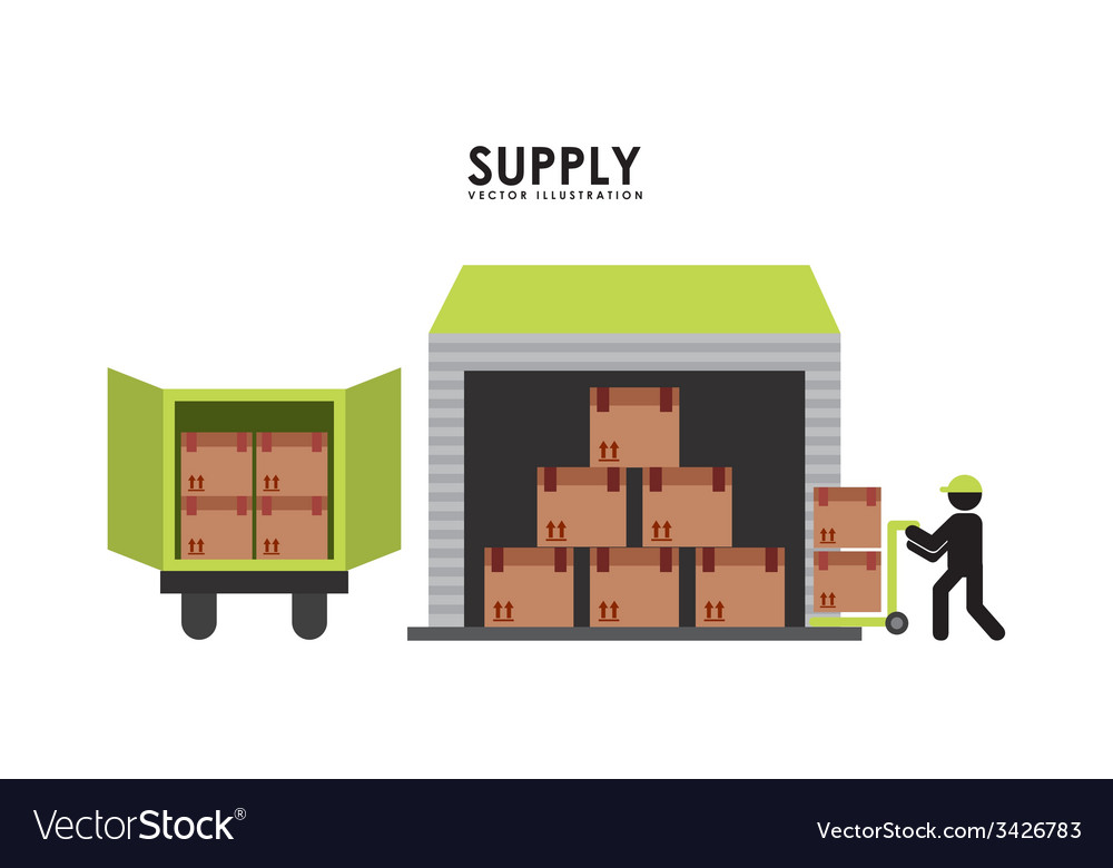 Supply design vector | Price: 1 Credit (USD $1)