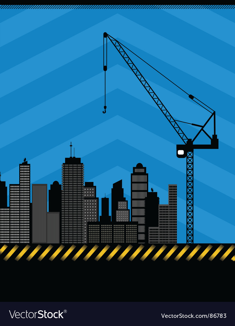 Urban construction illustration vector | Price: 1 Credit (USD $1)