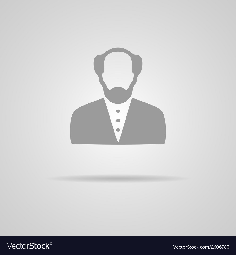 Web icon - professor vector | Price: 1 Credit (USD $1)