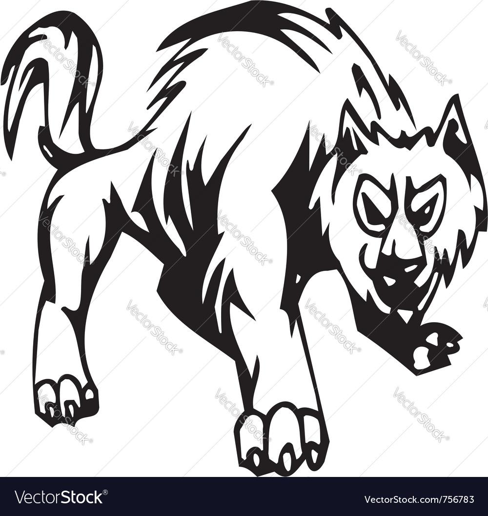Wolf - halloween set - vector   Price: 1 Credit (USD $1)