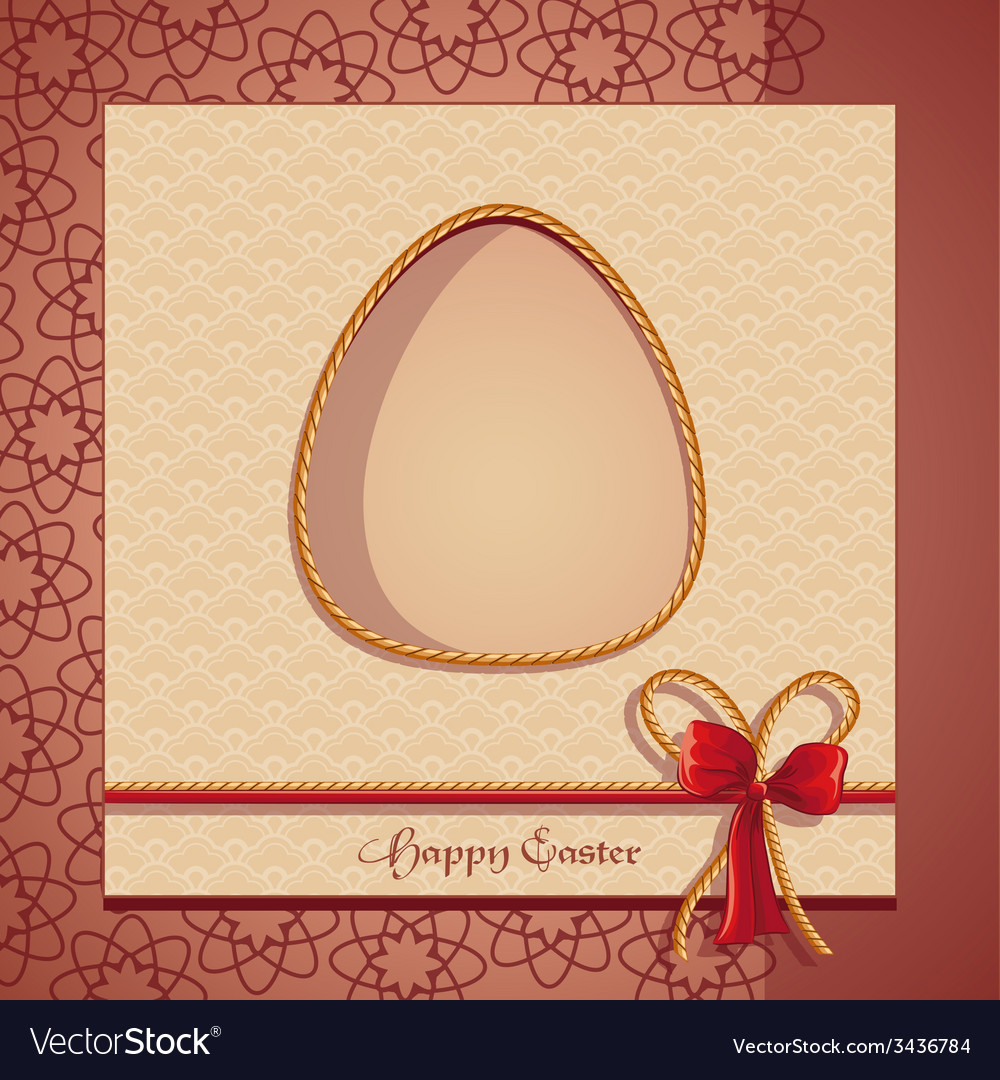 Postcards easter vector | Price: 1 Credit (USD $1)