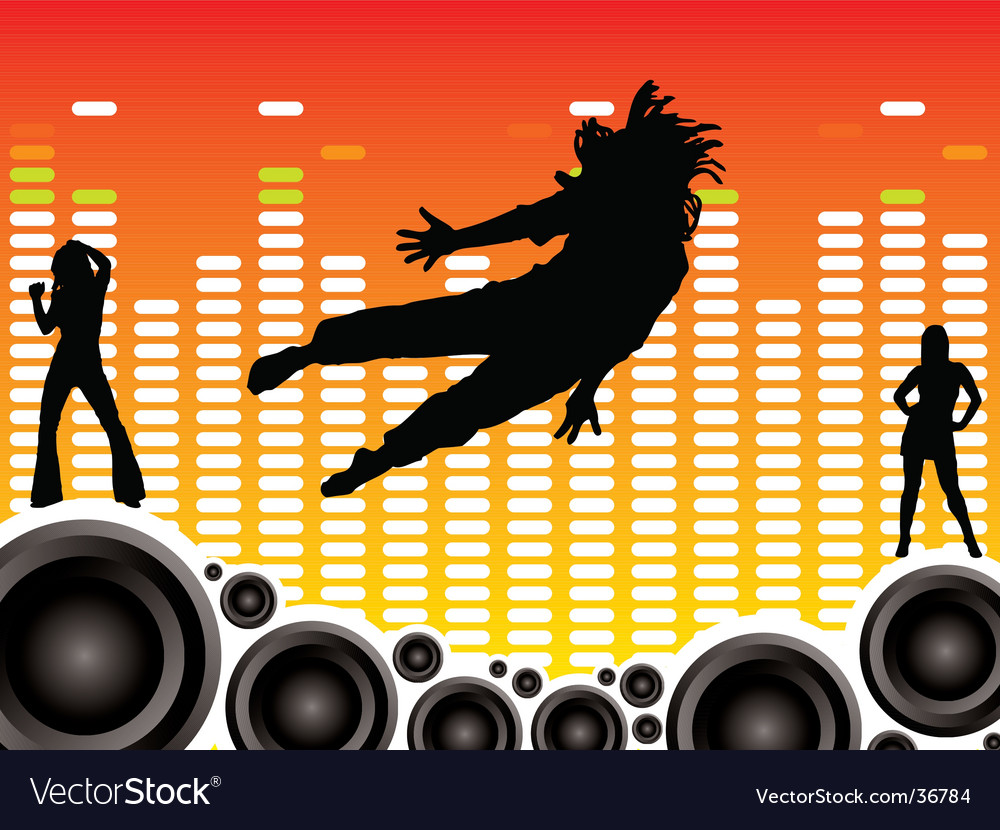 Wall of sound vector | Price: 1 Credit (USD $1)