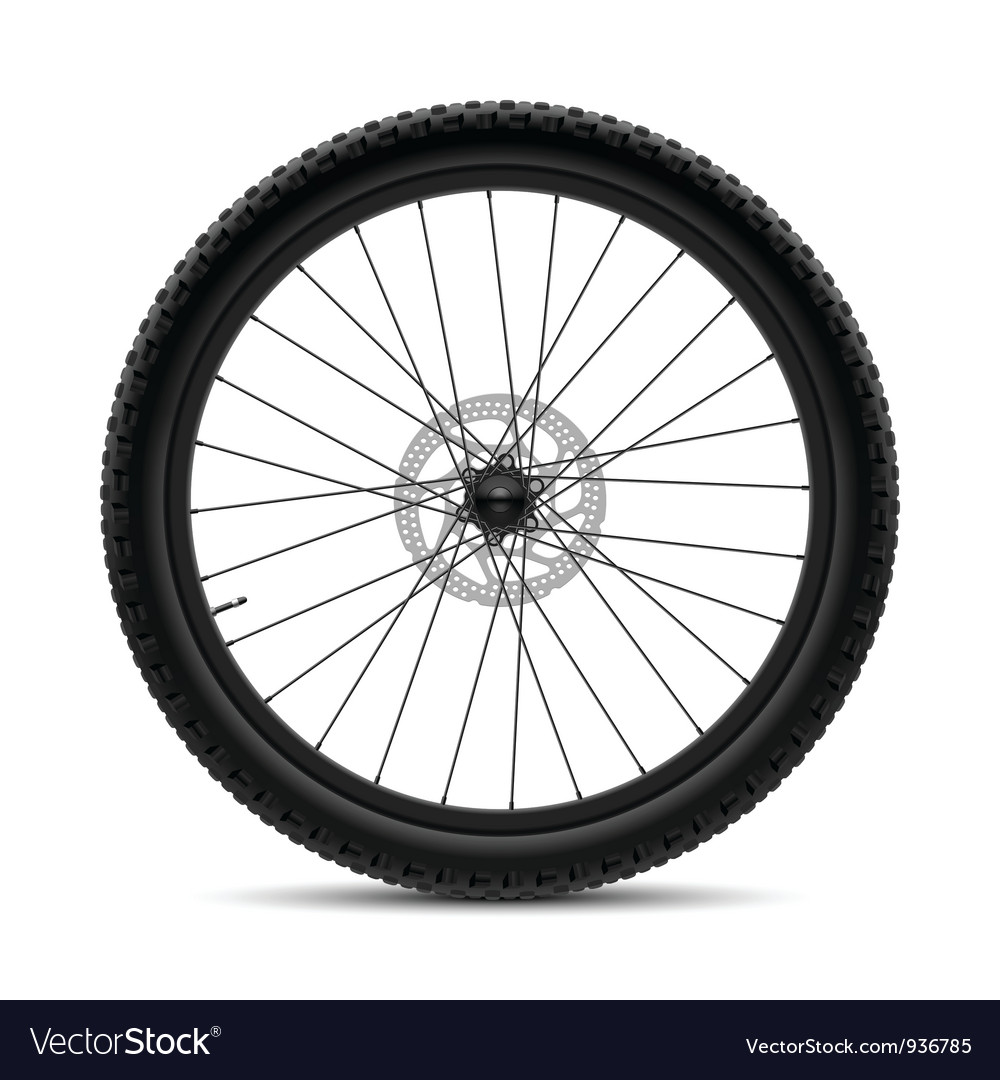 Bicycle wheel vector | Price: 3 Credit (USD $3)